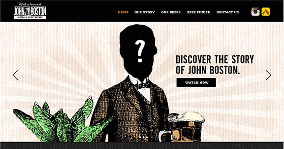 John Boston website